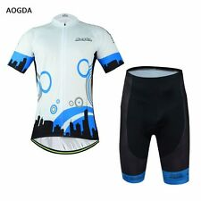 AOGDA Pro Mens Cycling Jersey Shirt Bike Bicycle +(BIB) Shorts City Comfortable