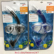 Speedo Dive REEF SCOUT Mask + Snorkel Junior 6-14 Yrs Swimming Goggle Snorkeling
