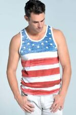 Old Glory American Flag Men's Tank Top USA all over flag print 2 Colors