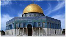 Islamic Calligraphy Canvas Art-Dome of the Rock Mosque Wall Art Islamic Gift!!!
