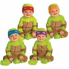 CHILDRENS TMNT TEENAGE MUTANT NINJA TURTLES RAPH MIKEY LEO BABY INFANT COSTUME