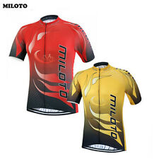 Mens Ropa Ciclismo Cycling Jerseys Bike Clothing T-shirt Cycling Tops Red,Yellow