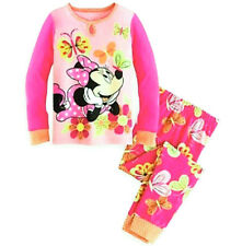 Disney Store Minnie Mouse Pajamas Butterfly Dreams NWT PJ Pals Girls sizes 3, 4