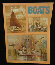 Walter T Foster On The Painting Of Boats 210 Duane Light Art Book English PB
