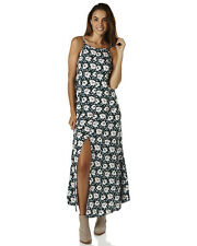 New All About Eve Women's Lucy Womens Maxi Dress Womens Robe Green Floral