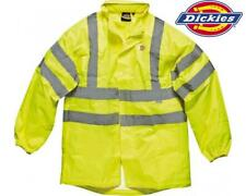 Dickies Hi Visibility Lightweight Waterproof Jacket Hi Vis Yellow FREE SNAPBACK