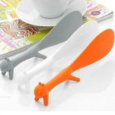 1pc Kitchen Gadgets Squirrel Shape Rice Paddle Scoop Spoon Ladle Novelty New JJ