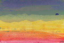 Marmont Hill Desert Sun Painting Print on Wrapped Canvas