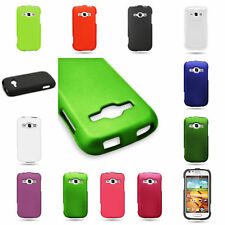Slim Hard Rubberized Matte Phone Cover Case For Samsung Galaxy Ring Prevail 2