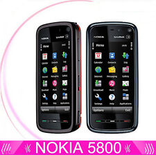 Nokia XpressMusic 5800 - Black&Blue&Red (Unlocked) Smartphone WIFI GPS Bluetooth