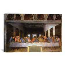 iCanvas 'The Last Supper' by Leonardo Da Vinci Painting Print on Wrapped Canvas