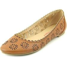 Pink & Pepper Maizy   Round Toe Synthetic  Flats NWOB
