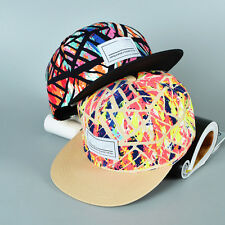 Fashion Men's Women's Adjustable Floral Snapback Unisex Baseball Cap Hip Hop Hat