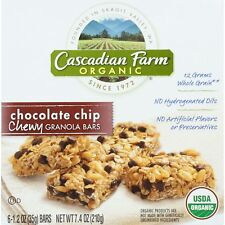 Cascadian Farm Granola Bars, Chewy, Chocolate Chip