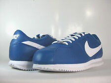 NIKE MENS CORTEZ BASIC NYLON Military Blue/White-Pure Platnium  -476716 404-