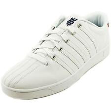 K-Swiss Court Pro II C CMF Men  Round Toe Leather White Sneakers
