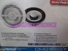"""New (pair) Clarion CMG1722R 7"""" Marine Stereo Coaxial Speakers"""