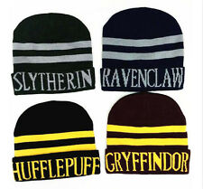 Harry Potter Gryffindor Stripe Knit Hat Cap Beanie Preppy Costume Christmas Gift