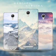 Nice Scenery Landscape Patterned TPU Rubber Soft Skin Back Protect Case Cover