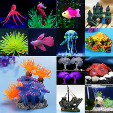 Vivid Artificial Plants Fish Tank Aquarium Landscaping Underwater Ornament Decor