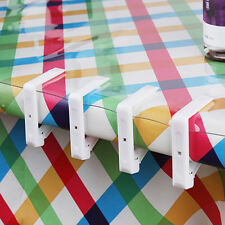 Plastic Table Cover Cloth Desk Skirt Clip Wedding Party Picnic Clamp Holder 1Pcs