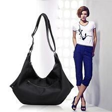 Womens Purse Ladies Tote Shoulder Bag Black Stylish Genuine Leather Handbag #106
