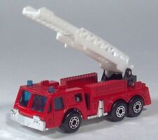 "1982 Matchbox Fire Engine 3"" Ladder Truck Die Cast Scale Model"