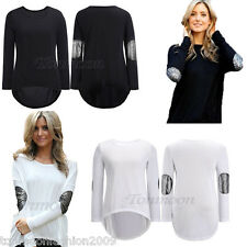 Women Loose Casual Long Sleeve Sexy Shirt Tops Blouse Ladies Tee Top