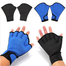 1 Pairs Surfing Diving Swim Frog Webbed Fingerless Gloves Swim Paddle Gloves