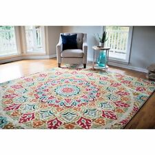 RUGS AREA RUGS CARPET AREA RUG FLOOR MODERN LARGE FLORAL AREA RUGS COLORFUL NEW~