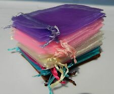 Wholesal Organza Gift Bags Wedding Christmas Party Favor Packaging Pouches gift