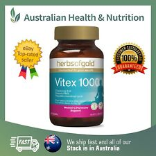 HERBS OF GOLD - VITEX 1000 - BOTH SIZES - BALANCE WOMEN'S HEALTH + FREE SAMPLE