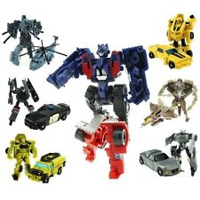 1-7PCS Transforming Vehicle Autobots Bumblebee Optimus Prime Storm Guard Toys UK
