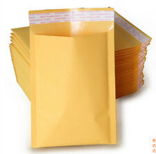 Popular Free shipping 4'' x 5'' SELF SEAL Kraft Bubble Mailers Padded Envelopes