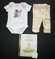 New Gymboree Fuzzy Duckling 2 Piece Set NWT 0 3 6 12 18 24 M Little Golden Books