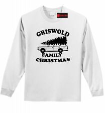Griswold Family Christmas Funny L/S T Shirt Clark Griswold Movie Xmas Gift Z1