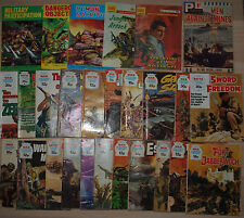 Lot of 72 War Picture Library Commando War Stories Combat Picture Library Mix