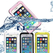 New Waterproof Dirtproof Shockproof LifeProof Rubber TPU Case Cover for iPhone 6