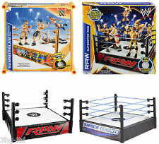 Mattel WWE Superstar Ring Smackdown Raw Summerslam Superstar Wrestling Toy New