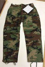GENUINE GI ISSUE NEW MILITARY WOODLAND CAMO CARGO BDU PANTS USA MOST SIZES