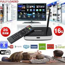 CS918T Quad Core Android 4.4 Smart TV Box 2GB 16GB WIFI HD 1080P WIFI Bluetooth