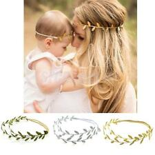 Mommy And Me Leaf Headband Olive Branch Baby Girl Hairband Distinctive Headwear