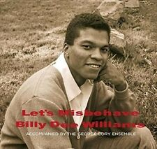Let's Misbehave - Williams,Billy Dee New & Sealed CD-JEWEL CASE Free Shipping