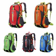 outdoor waterproof riding hiking travel rucksack camping bag backpack