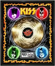 KISS Sonic Boom Limited Ed. Framed 18X24 24KT Gold LP Collection/2500
