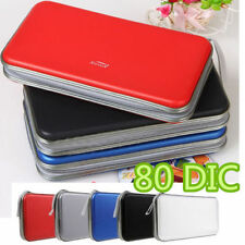 Multi Colors 80x Disc CD DVD Portable Storage Case Wallet Hard Box Bag Holder