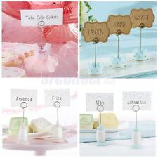 Dress/Feeding Bottle/Crown Place Card Holder Wedding Table Photo Number Clip