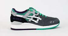 Asics Unisex Gel-Lyte III Grey/White H405N-1101 SALE