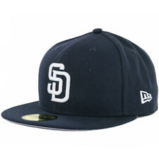 New Era 59Fifty San Diego Padres DN WH Fitted Hat (Dark Navy/White) MLB Cap