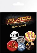 DC Comics The Flash Badge Pack 10x15cm